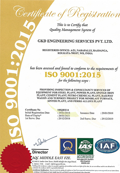 Quality Inspection Services - Inspection of Material Handling